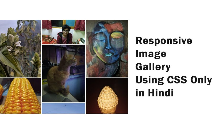 Responsive Image Gallery Using CSS